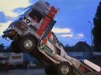 Stunts mit Trucks